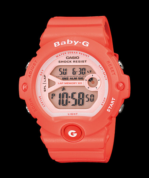 Casio Baby-G 200-meter Water Resistance BG-6903-4DR Watch (New With Tags)