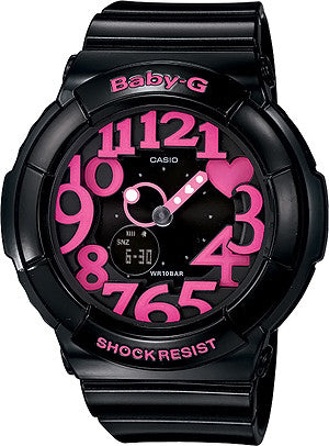 Casio Baby-G Standard Analog-Digital BGA-130-1BDR Watch (New with Tags)