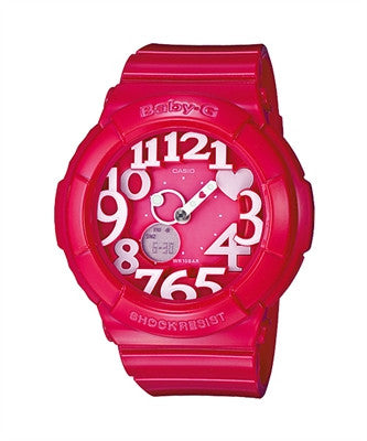 Casio Baby-G Standard Analog-Digital BGA-130-4BDR Watch (New with Tags)