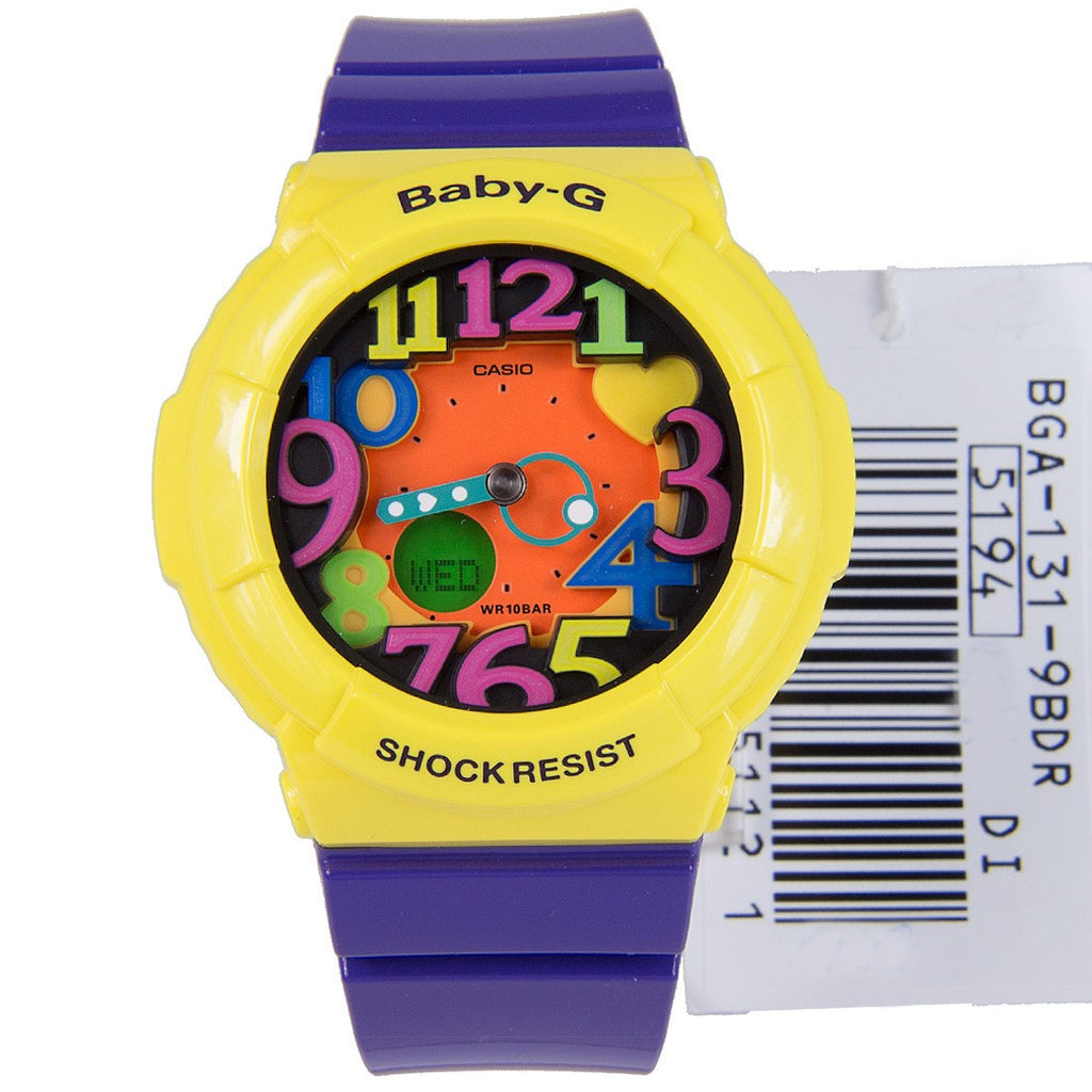 Casio Baby-G Neon BGA-131-9B Watch (New with Tags)