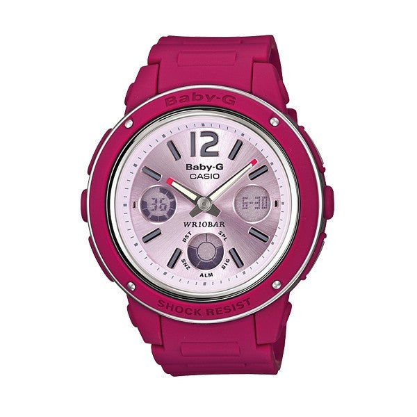 Casio Baby-G Analog-Digital BGA-150-4BDR Watch (New with Tags)