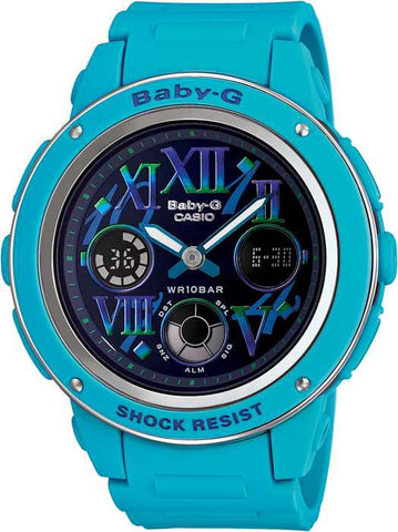 Casio Baby-G Standard Analog-Digital BGA-150GR-2BDR Watch (New with Tags)