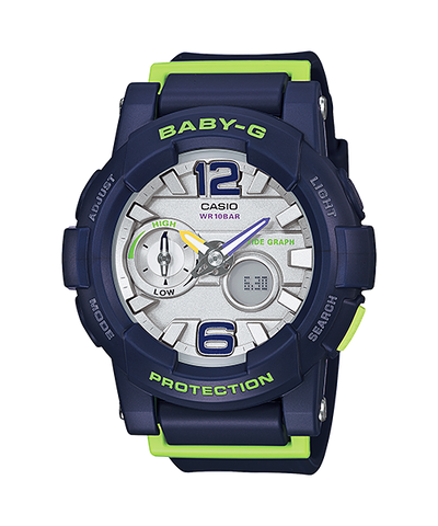 Casio Baby-G ANalog-Digital BGA-180-2BDR Watch (New with Tags)