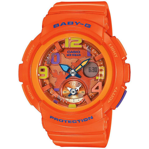 Casio Baby-G Beach Travelers BGA-190-4B Watch (New with Tags)