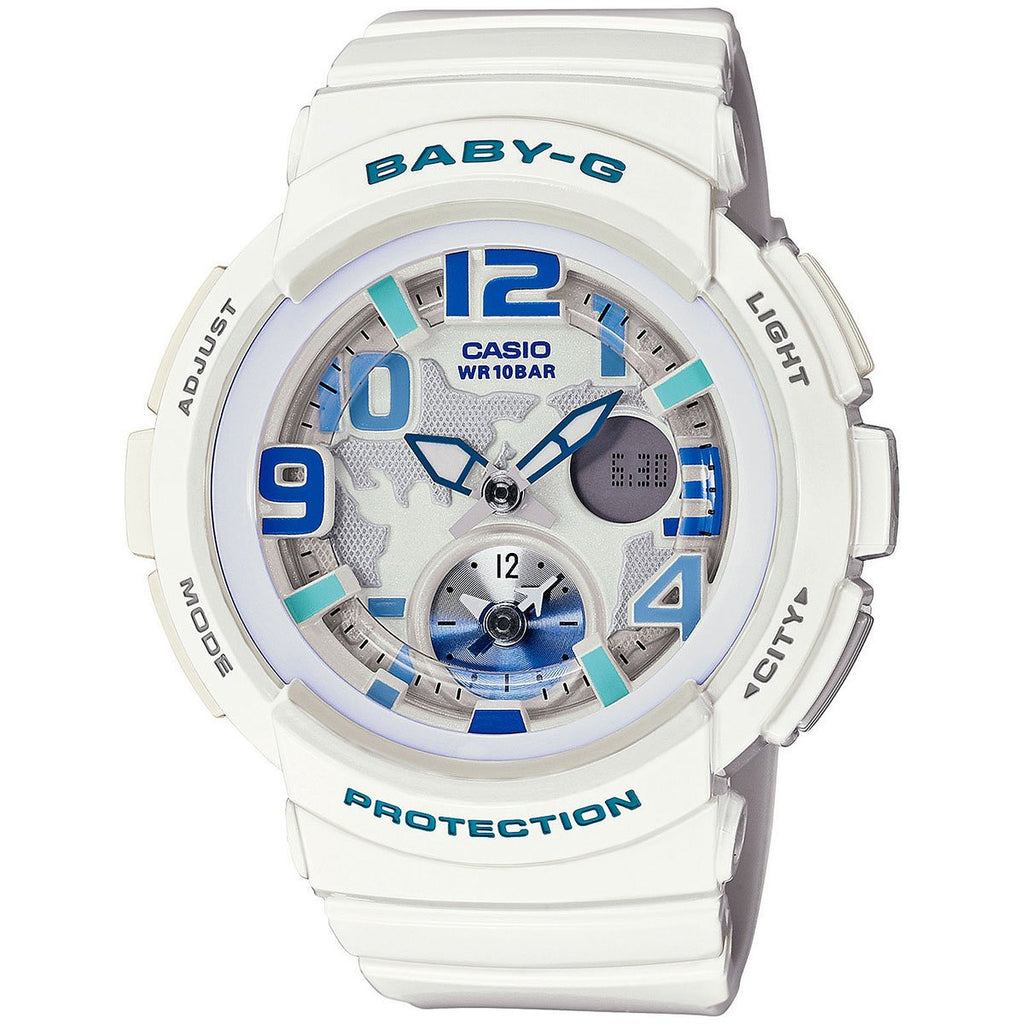 Casio Baby-G Analog-Digital BGA-190-7BDR Watch (New with Tags)