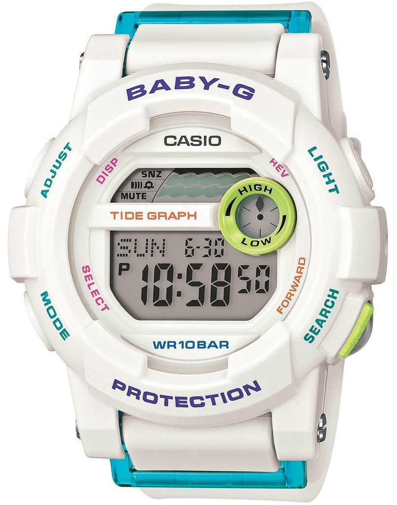 Casio Baby-G Standard Digital BGD-180FB-7DR Watch (New with Tags)