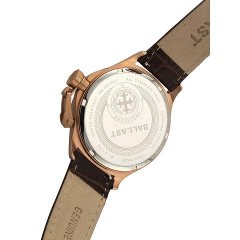 Ballast Trafalgar Dress BL-3126-03 Watch (New with Tags)