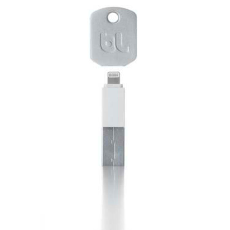 BlueLounge KI-WH-L Kill Lightning Charging Key Chain (White)
