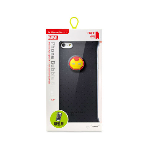 Bone Collection Iron Man Phone Bubble 6 Plus PH15101-IRO