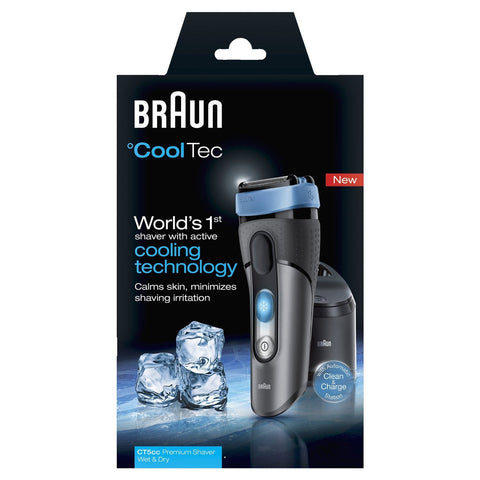 Braun CoolTec CT5cc Electric Rechargeable Shaver