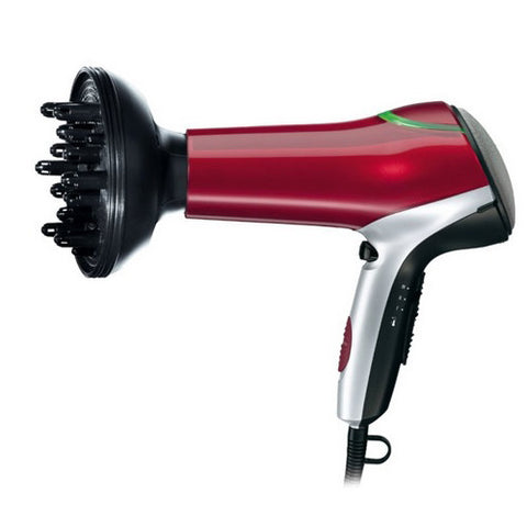 Braun Satin-Hair 7 Color Hair Dryer HD770 (Red)