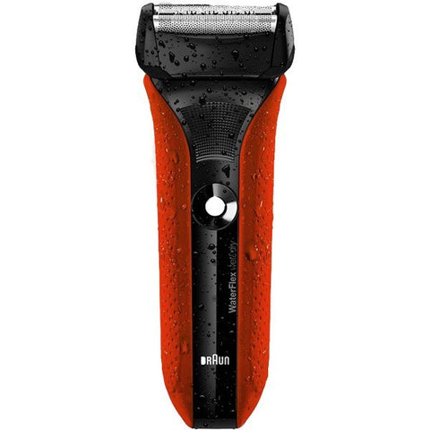 Braun Water Flex WF2s Shaver (Red)