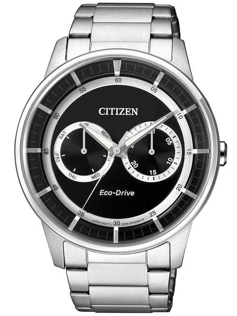 Citizen Eco-Drive Elegant Calendar BU4000-50E  Watch (New with Tags)