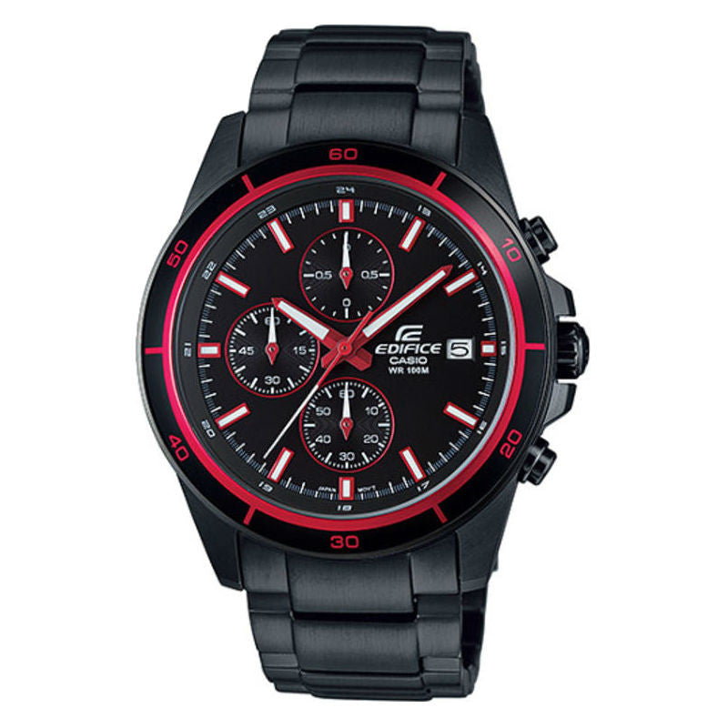 Casio Edifice Chronograph EFR-526BK-1A4V Watch (New with Tags)