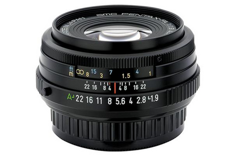 Pentax smc FA 43mm f1.9 Limited Black Lens