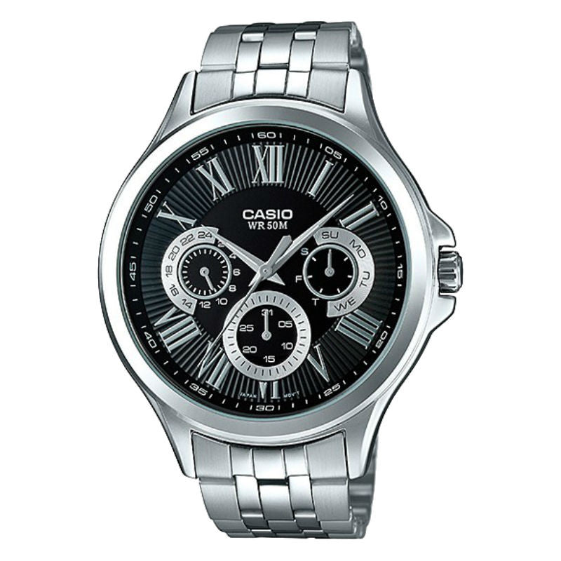 Casio Standard MTP-E308D-1AV Watch (New with Tags)