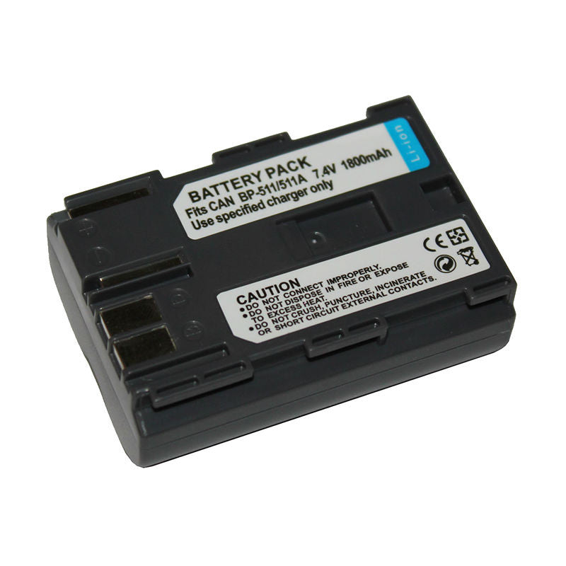 Generic BP511A Battery for Canon