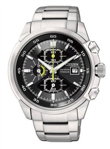 Citizen Eco-Drive Adventure Chronograph Sports CA0131-55E Watch (New with Tags)