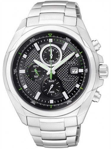 Citizen Eco-Drive Chronograph CA0190-56E Watch (New with Tags)
