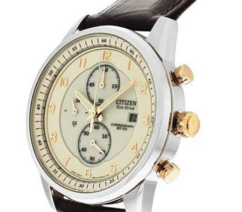 Citizen Eco-Drive Chronograph CA0331-13A Watch (New with Tags)