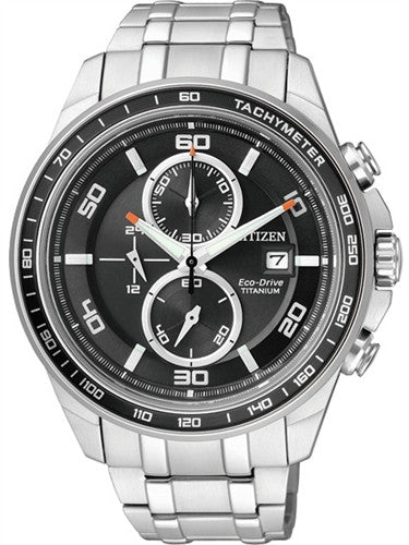 Citizen Eco-Drive Chronograph CA0341-52E (CA0340-55E) Watch (New with Tags)