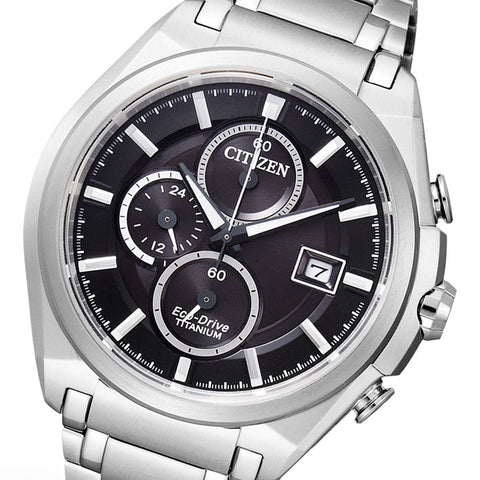 Citizen Eco-Drive Chronograph CA0350-51E (CA0351-59E) Watch (New with Tags)