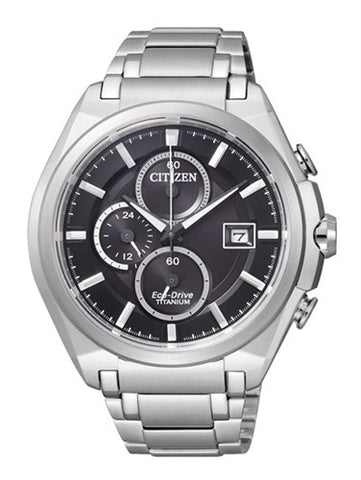 Citizen Eco-Drive Chronograph CA0351-59E (CA0350-51E) Watch (New with Tags)