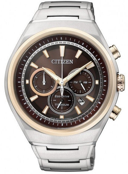Citizen Eco-Drive Chronograph CA4024-53W (CA4025-51W) Watch (New with Tags)