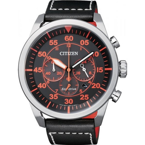 Citizen Eco Drive Aviator CA4210-08E Watch (New with Tags)