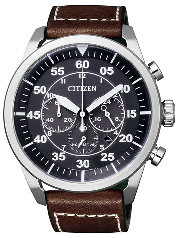 Citizen Eco Drive Aviator CA4210-16E Watch (New with Tags)