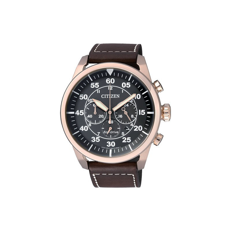 Citizen Eco Drive Aviator Chronograph CA4213-00E Watch (New with Tags)