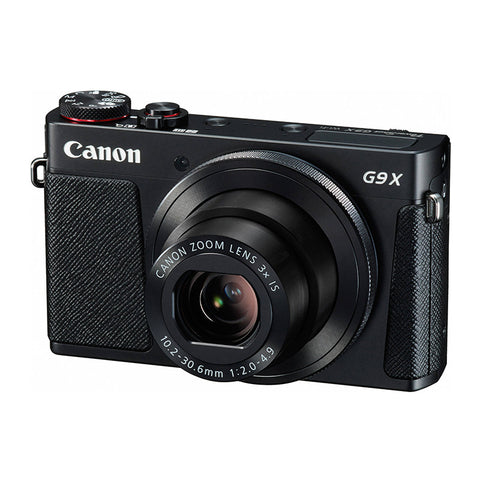 Canon PowerShot G9 X Black Digital Camera