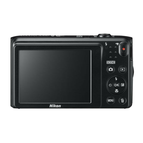 Nikon Coolpix A300 Black Digital Camera