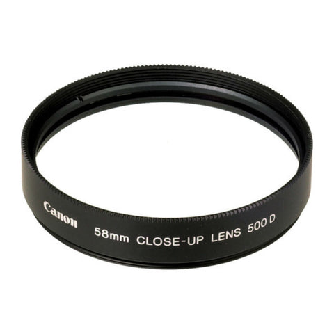 Canon 500D 58mm Close Up Lens