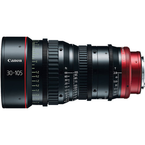 Canon CN-E 30-105mm T2.8 L SP Telephoto Cinema Zoom Lens (PL Mount)