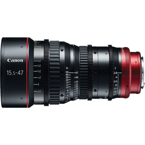 Canon CN-E 15.5-47mm T2.8 L SP Wide-Angle Cinema Zoom Lens (PL Mount)