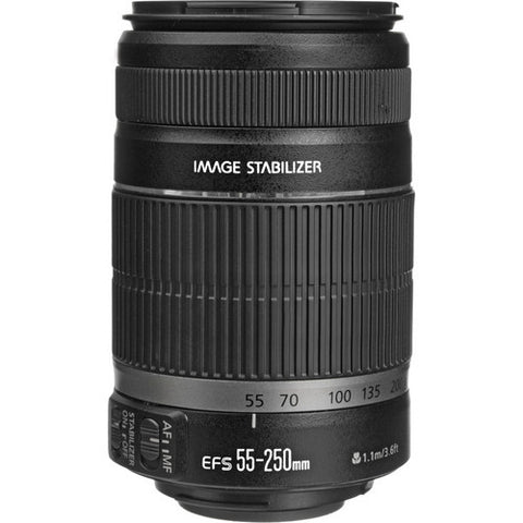 Canon EF-S 55-250mm f4-5.6 IS II Lens (White box)
