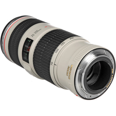 Canon EF 70-200mm f4L IS USM White Lens