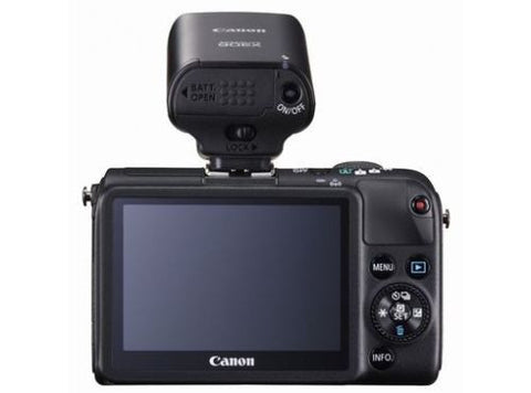 Canon EOS M2 with EF-M 22mm f/2 STM, EF-M 11-22mm f/4-5.6 IS STM, EF-S 18-55mm f/3.5-5.6 IS II Lens and 90EX Flash Black Digital SLR Camera
