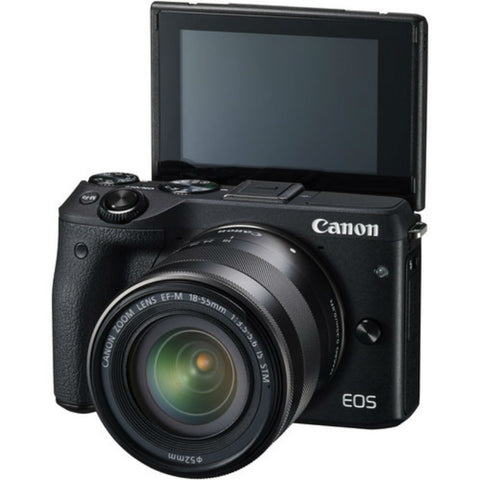 Canon EOS M3 with 15-45mm Black Digital SLR Camera