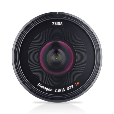 Carl Zeiss 18mm F2.8 Black Lens (Sony-E)