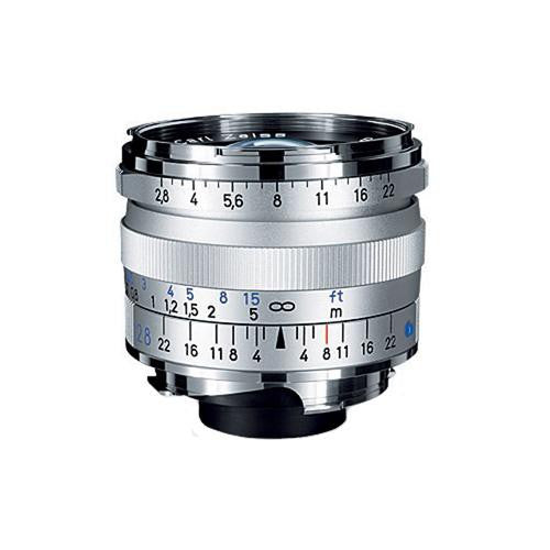 Carl Zeiss Biogon T* ZM 28mm f/2.8 for Leica M Silver Lens