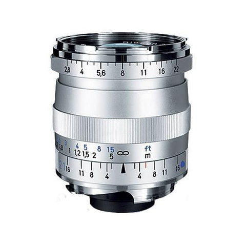 Carl Zeiss Biogon T* ZM 21mm f/2.8 for Leica M Silver Lens