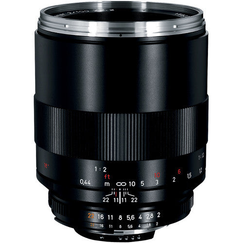 Carl Zeiss Makro-Planar T* ZF2 100mm f/2 for Nikon Black Lens