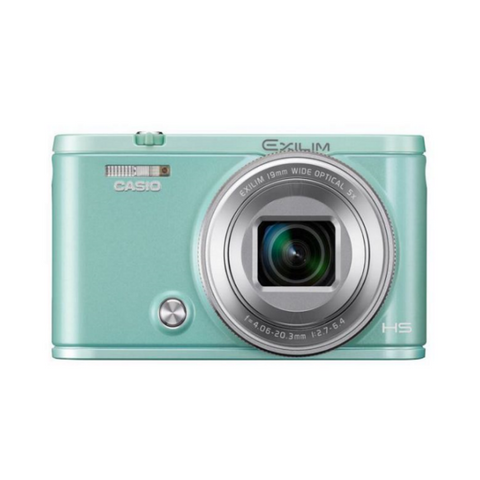 Casio Exlim EX-ZR5000 Green Digital Camera