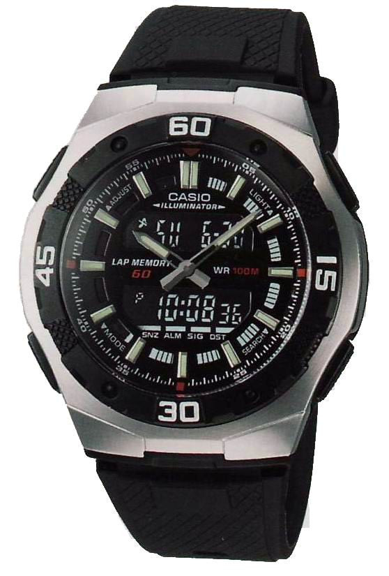 Casio Sports Analog- Digital AQ-164W-1AVDF Watch (New with Tags)