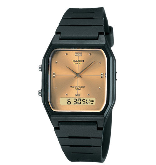 Casio Standard Analog-Digital AW-48HE-9AVDF Watch (New with Tags)