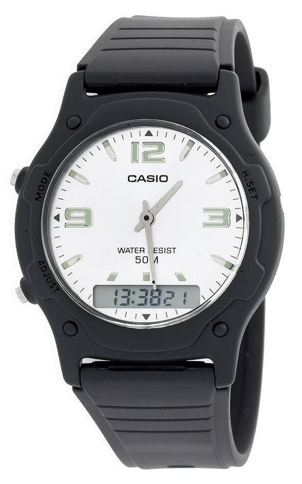 Casio Youth Combination AW-49HE-7AVDF Watch (New with Tags)
