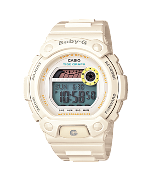 Casio Baby-G 200m Water Resistant BLX-102-7DR Watch (New with Tags)