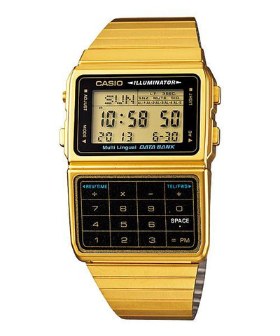 Casio DataBank Digital DBC-611G-1DF Watch (New with Tags)